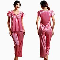 Women Summer Pajamas Set