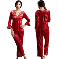 Women Winter Pajama Set