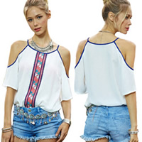 Women Off Shoulder Blouses and Tops