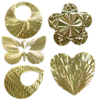 Filigree Brass Stamping Jewelry