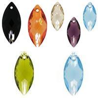 CRYSTALLIZED™ #6110 Crystal Navette Pendants