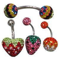 CRYSTALLIZED™ Crystal Belly Piercing Jewelry