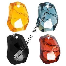 CRYSTALLIZED™ #6191 Crystal Divine Rock Pendants