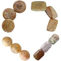 Natural Morocco Agate Beads