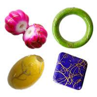 Drawbench Painted Acrylic Beads