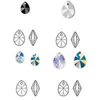 CRYSTALLIZED™ Elements #6128 Crystal Xilion Pear Pendants