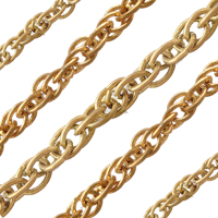 Brass Double Rope Chain