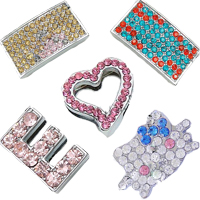 Rhinestone Slide Charms
