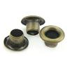 Iron Grommet, antique bronze color, Hole:Approx 3mm, 5000PCs/Bag, Sold By Bag