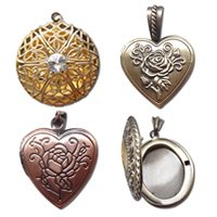 Brass Locket Pendants