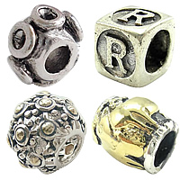 Thailand Sterling Silver European Beads