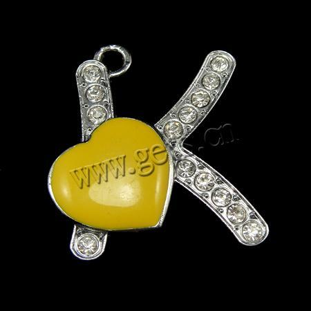 Alphabet K In Heart Zinc alloy alphabetK Alphabet In Heart