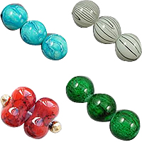 Baking Varnish Glass Beads