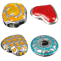 Enamel Zinc Alloy Beads