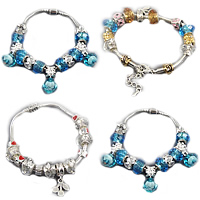 European Match Crystal Bracelets