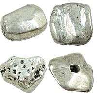 Zinc Alloy Nugget Beads