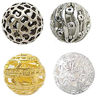 Zinc Alloy Hollow Beads