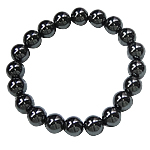 Hematite Bracelet, different styles for choice, Grade A, Length:7 Inch, Sold By Strand