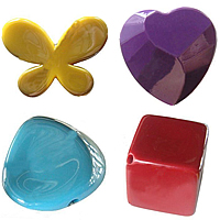 UV Plating Acrylic Beads