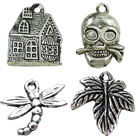 Antique Gold/Silver Acrylic Pendants
