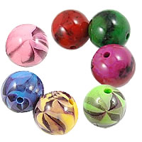 Imitation Resin Acrylic Beads