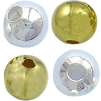 Brass Smooth Round Beads