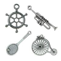 Brass Tool Pendants
