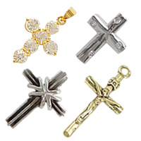 Brass Cross Pendants
