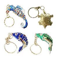 Cloisonne Key Chain