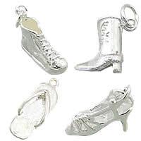 Brass Shoes Pendants