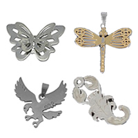 Stainless Steel Animal Pendants