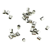 Iron Crimp Beads