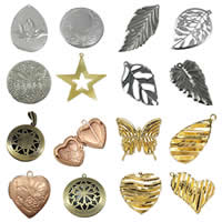 Iron Jewelry Pendants