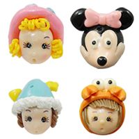 Cartoon Polymer Clay Beads