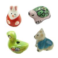 Animal Porcelain Beads