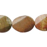 Zebra Stone Bead