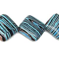 Natural Blue Malachite Beads