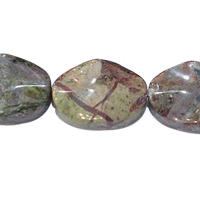 Green Rainforest Stone Bead