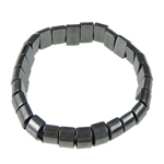 Hematite Bracelet, different styles for choice, 12x6mm, Length:7.5 Inch, Sold By Strand