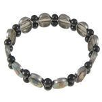 Hematite Bracelet, with Copper Coated Plastic, different styles for choice, 12x16mm, Sold Per 7.5 Inch Strand