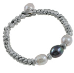 Freshwater Pearl Bracelet, 10-12mm, Length:7.5 Inch, Sold By Strand