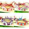 Friendship Bracelets, Hemp, woven, more colors for choice, 1cm, Sold Per Approx 15 cm Strand