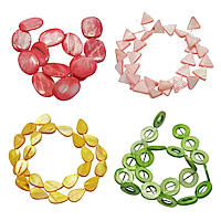 Dyed Shell Beads