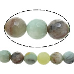 Amazonite Beads, Round, natural, more sizes for choice & faceted, Hole:Approx 1-2mm, Length:Approx 16 Inch, Sold By Strand