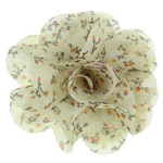Fashion Decoration Flowers, Chiffon, layered, more colors for choice, 6x6cm, Sold By PC