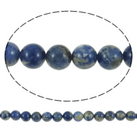 Sodalite Beads, Round, more sizes for choice, Sold Per 15.5 Inch Strand