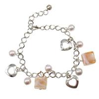 Lampwork Glass Pearl Bracelets
