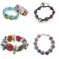 Millefiori Glass Bracelets