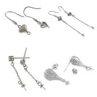 Sterling Silver Earring Drop Component