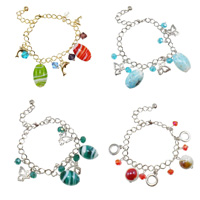 Lampwork Crystal Bracelets